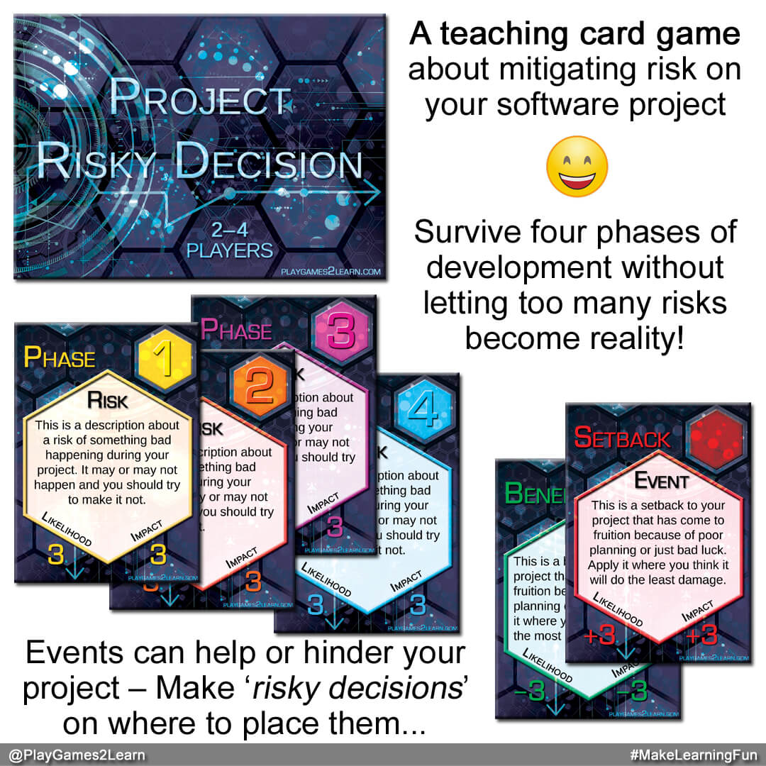 PlayGames2Learn.com - Project: RiskyDecision