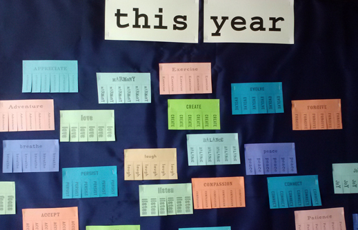 This Year board